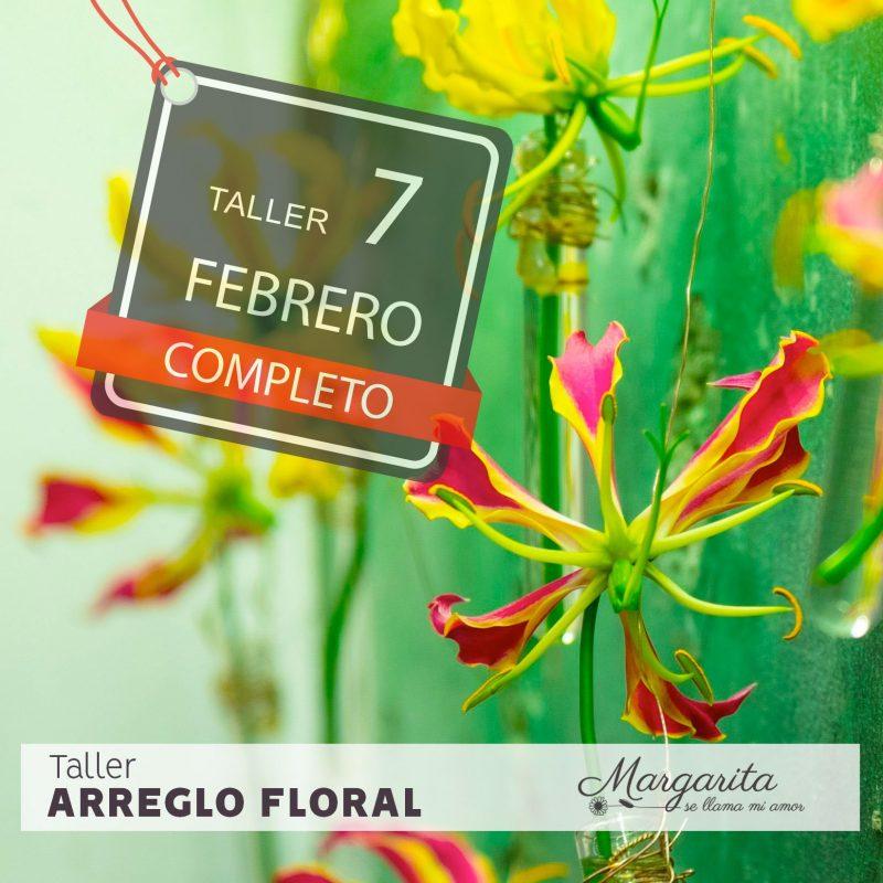 Taller floral Madrid - Margarita se llama mi amor