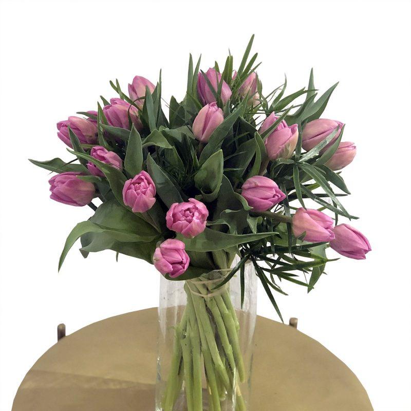 Venta online de flores - tulipanes rosas - Margarita se llama mi amor